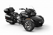 Can-Am Spyder F3 LTD SE6 Steel Black Metallic  (Chrome)
