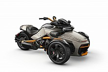 Can-Am Spyder F3 S SE6 Liquid Titanium
