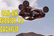 Can-am Maverick X3 BACKFLIP